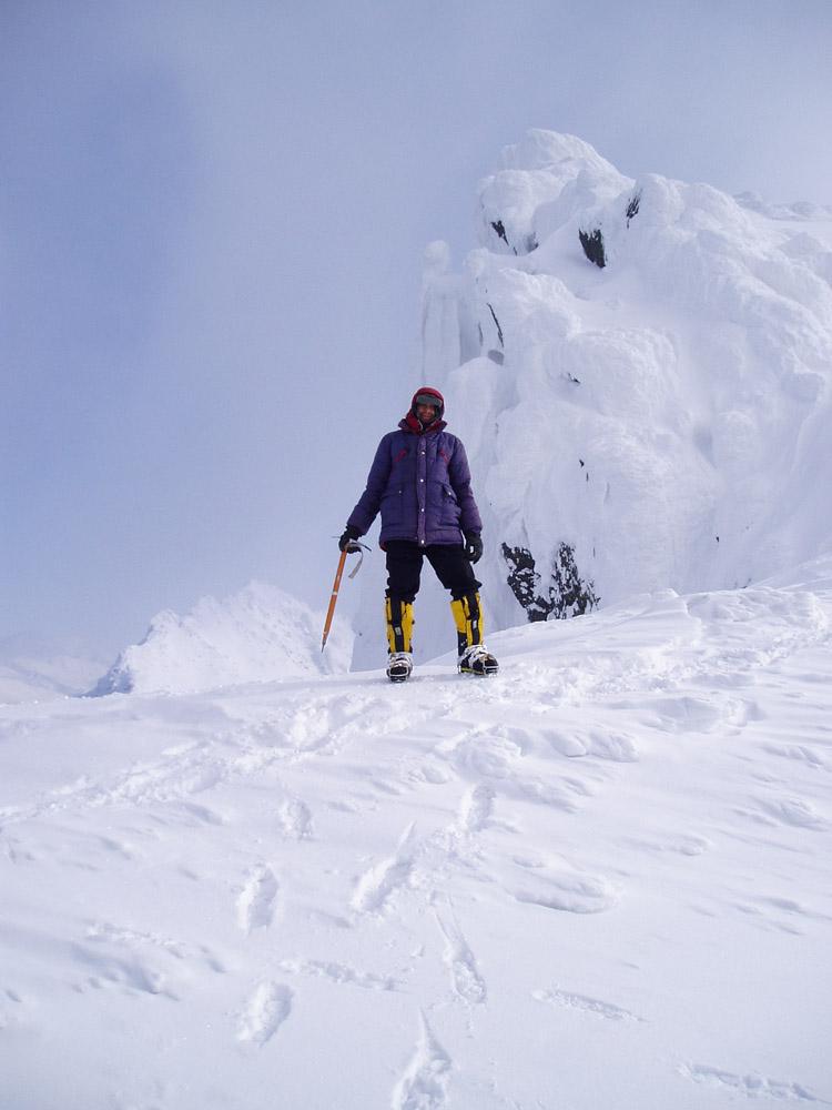 Андрей Данилов, гора Сабля, 2004 г.