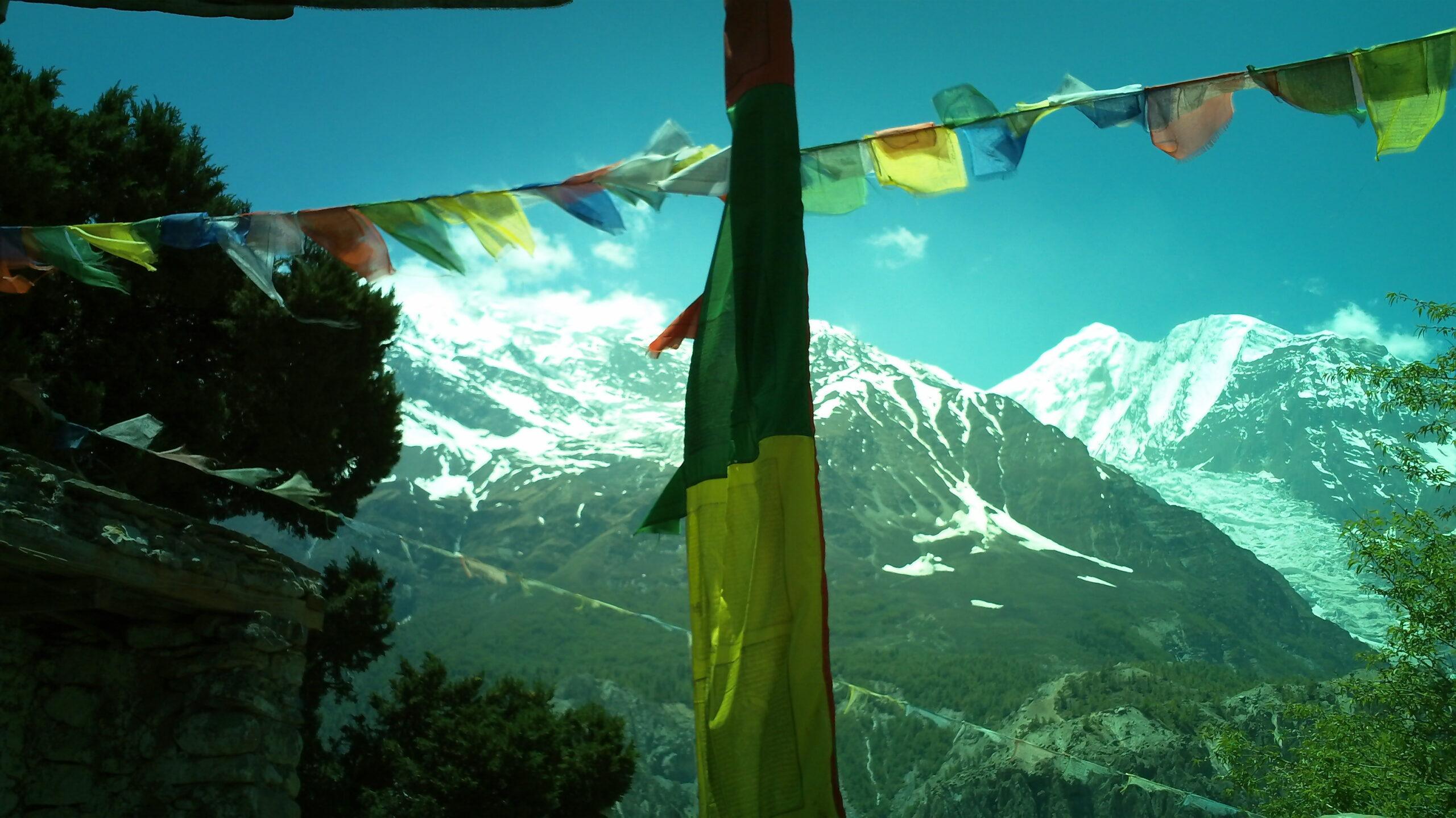 Вид на Аннапурну. Непал, Нижний Мустанг