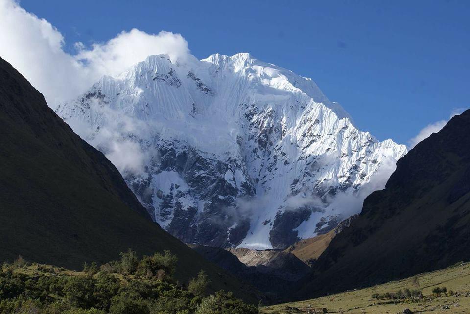 Гора Салкантай